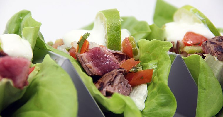 Lettuce Steak Tacos