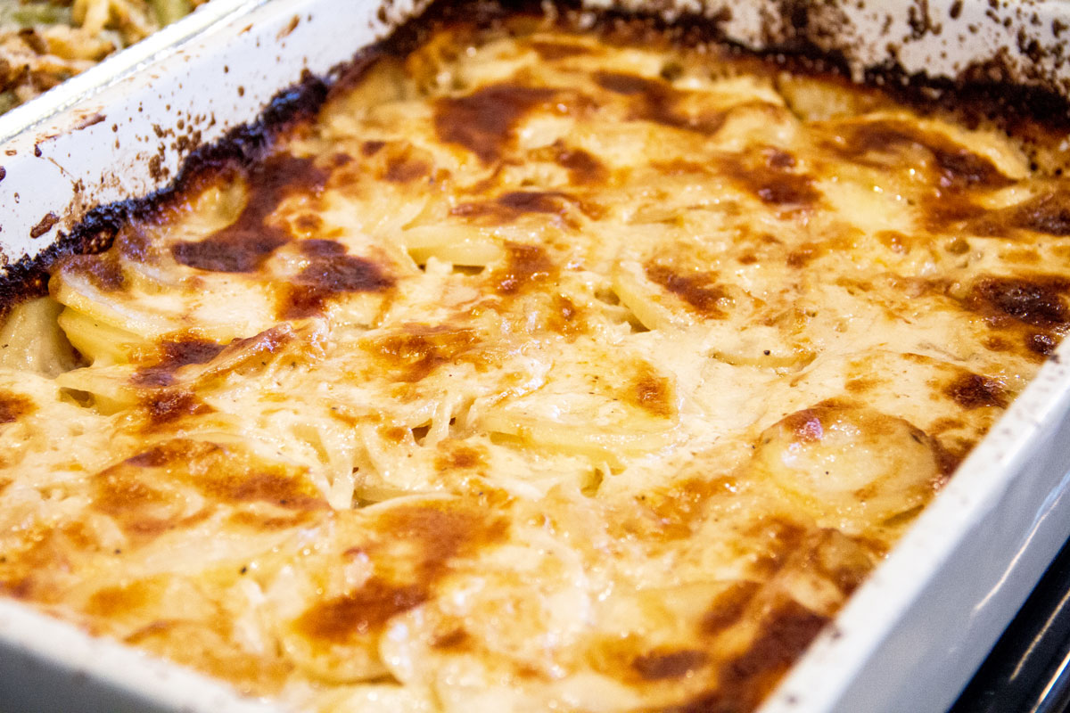 Ina Garten's Potato-Fennel Gratin