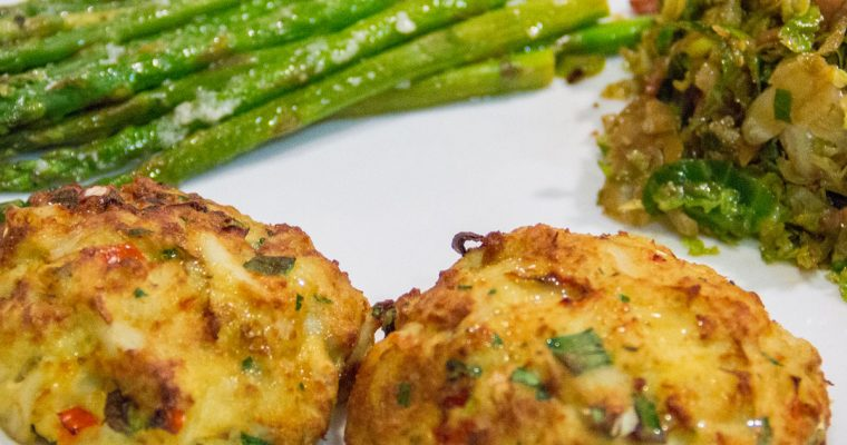 Air Fryer Crab Cakes