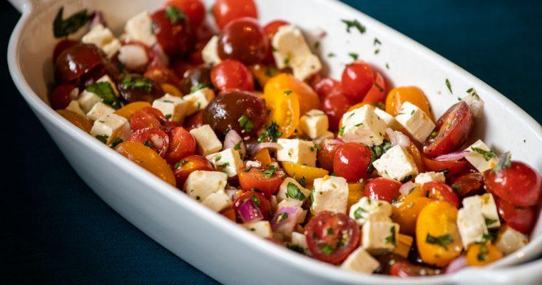 Ina Garten's Tomato Feta Salad