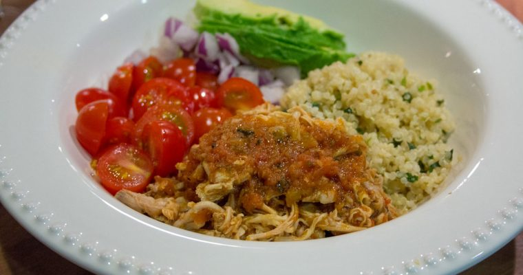 Instant Pot Chipotle Chicken Bowls with Quinoa